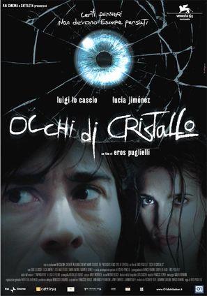 Occhi di cristallo - Italian Movie Poster (thumbnail)