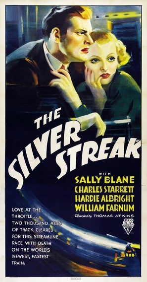 The Silver Streak - Movie Poster (thumbnail)