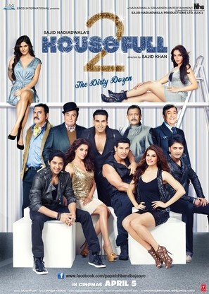Housefull 2 - Indian Movie Poster (thumbnail)