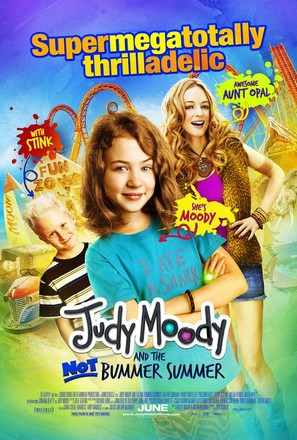 Judy Moody and the Not Bummer Summer - Movie Poster (thumbnail)