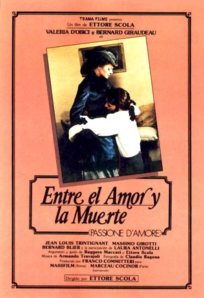 Passione d'amore - Spanish Movie Poster (thumbnail)
