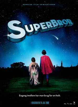 Superbror - Danish Movie Poster (thumbnail)