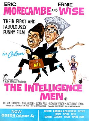 The Intelligence Men - British Movie Poster (thumbnail)