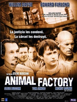 Animal Factory - Spanish Movie Poster (thumbnail)