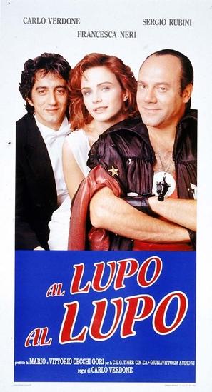 Al lupo al lupo - Italian Movie Poster (thumbnail)