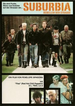 Suburbia - German Movie Poster (thumbnail)