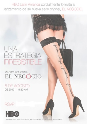 """O Negócio"" - Mexican Movie Poster (thumbnail)"