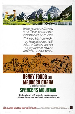 Spencer's Mountain - Movie Poster (thumbnail)