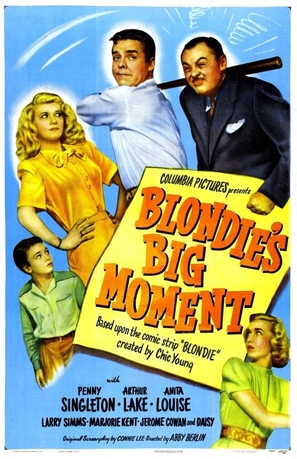 Blondie's Big Moment - Movie Poster (thumbnail)