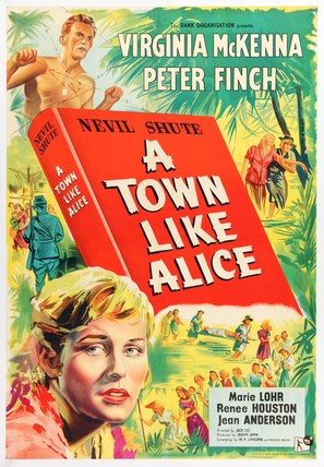 A Town Like Alice - British Movie Poster (thumbnail)
