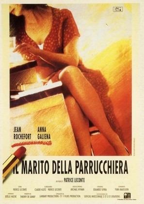Le mari de la coiffeuse - Italian Movie Poster (thumbnail)