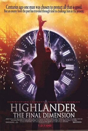 Highlander 3 - Movie Poster (thumbnail)