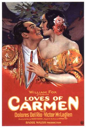 The Loves of Carmen - Movie Poster (thumbnail)