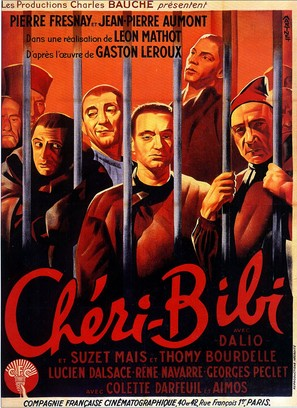 Chéri-Bibi - French Movie Poster (thumbnail)
