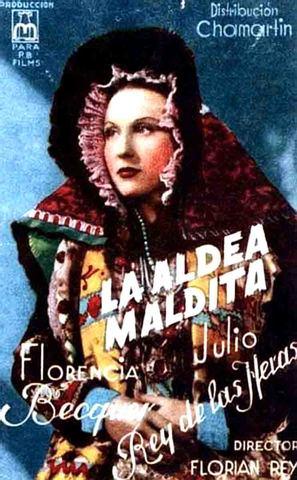 La aldea maldita - Spanish Movie Poster (thumbnail)
