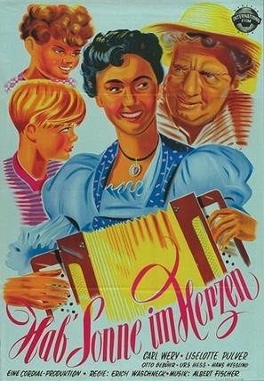 Hab Sonne im Herzen - Austrian Movie Poster (thumbnail)
