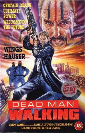 Dead Man Walking - British VHS movie cover (thumbnail)
