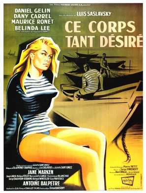 Onstuimige driften - French Movie Poster (thumbnail)