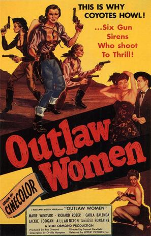 Outlaw Women - Movie Poster (thumbnail)