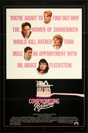 Compromising Positions - Movie Poster (thumbnail)