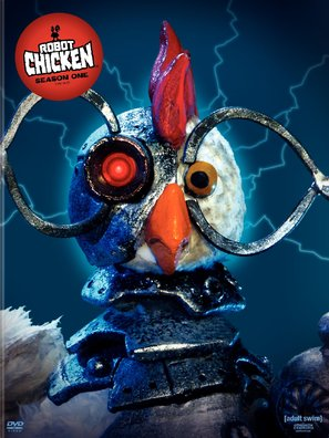 """Robot Chicken"" - DVD movie cover (thumbnail)"