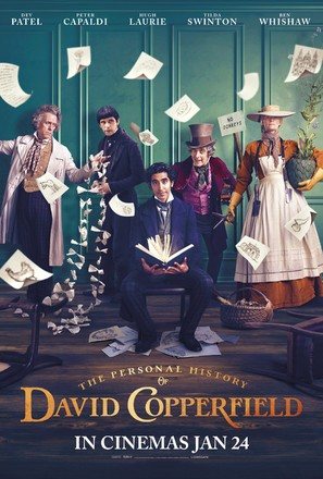 The Personal History of David Copperfield - British Movie Poster (thumbnail)