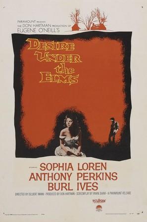Desire Under the Elms - Movie Poster (thumbnail)