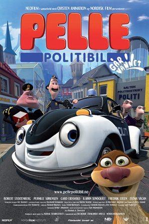 Pelle Politibil går i vannet - Norwegian Movie Poster (thumbnail)