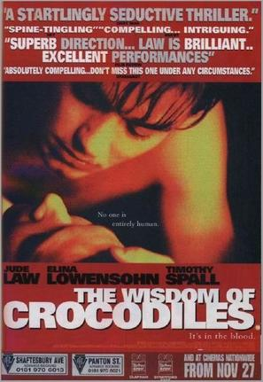 The Wisdom of Crocodiles - British Movie Poster (thumbnail)