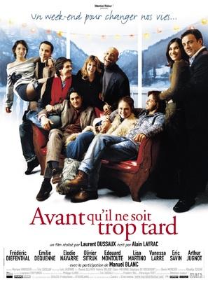 Avant qu'il ne soit trop tard - French Movie Poster (thumbnail)