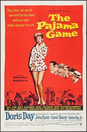 The Pajama Game - Movie Poster (thumbnail)