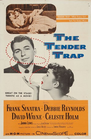 The Tender Trap - Movie Poster (thumbnail)