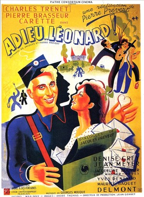 Adieu Léonard - French Movie Poster (thumbnail)