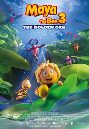 Maya the Bee 3: The Golden Orb - German Movie Poster (thumbnail)