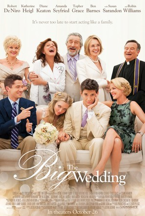 The Big Wedding - Theatrical movie poster (thumbnail)