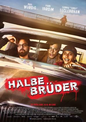 Halbe Brüder - German Movie Poster (thumbnail)