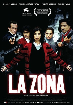 La zona - Spanish Movie Poster (thumbnail)