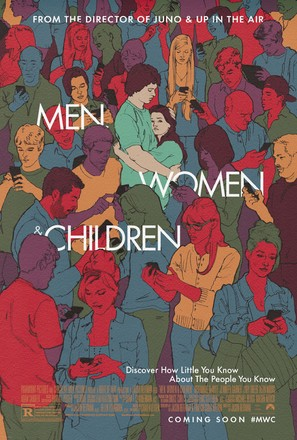 Men, Women & Children - Theatrical poster (thumbnail)