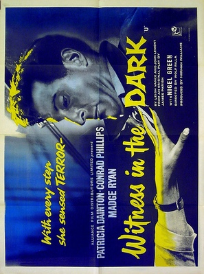 Witness in the Dark - British Movie Poster (thumbnail)