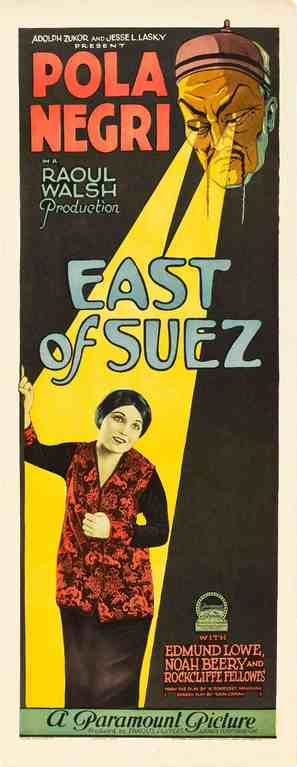 East of Suez - Movie Poster (thumbnail)