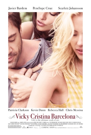 Vicky Cristina Barcelona - Movie Poster (thumbnail)