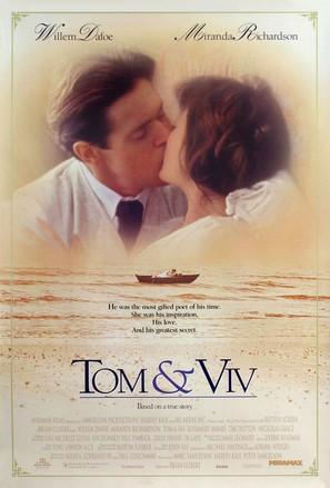 Tom & Viv - Movie Poster (thumbnail)