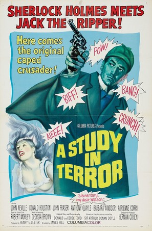 A Study in Terror - Movie Poster (thumbnail)