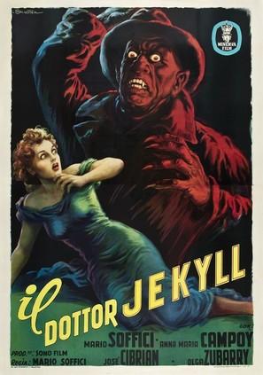 El extraño caso del hombre y la bestia - Italian Movie Poster (thumbnail)