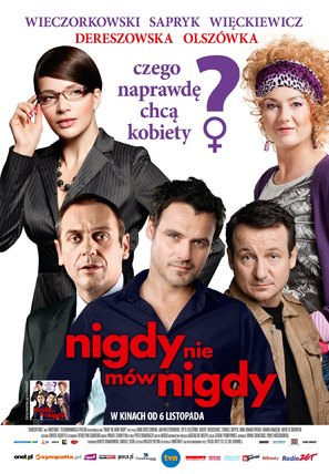 Nigdy nie mów nigdy - Polish Movie Poster (thumbnail)
