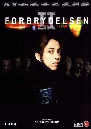 """""""Forbrydelsen II"""" - Danish DVD movie cover (thumbnail)"""
