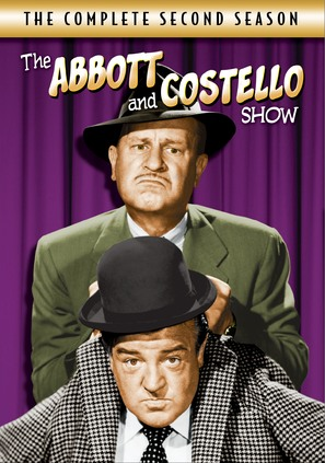 """The Abbott and Costello Show"" - DVD cover (thumbnail)"