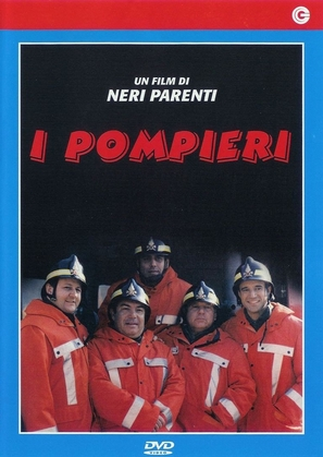 I pompieri - Italian Movie Cover (thumbnail)
