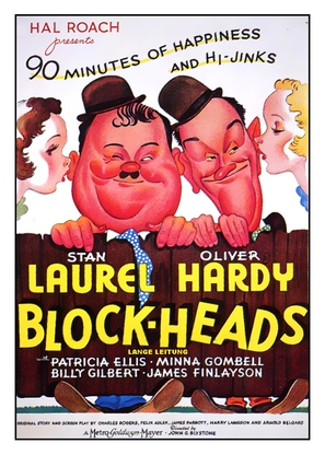 Block-Heads - Movie Poster (thumbnail)