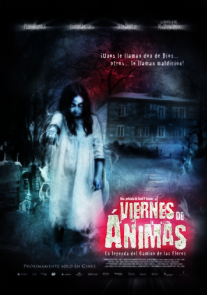 Viernes de Ánimas: El camino de las flores - Mexican Movie Poster (thumbnail)